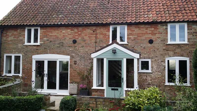 Hardwood windows, Downham Market