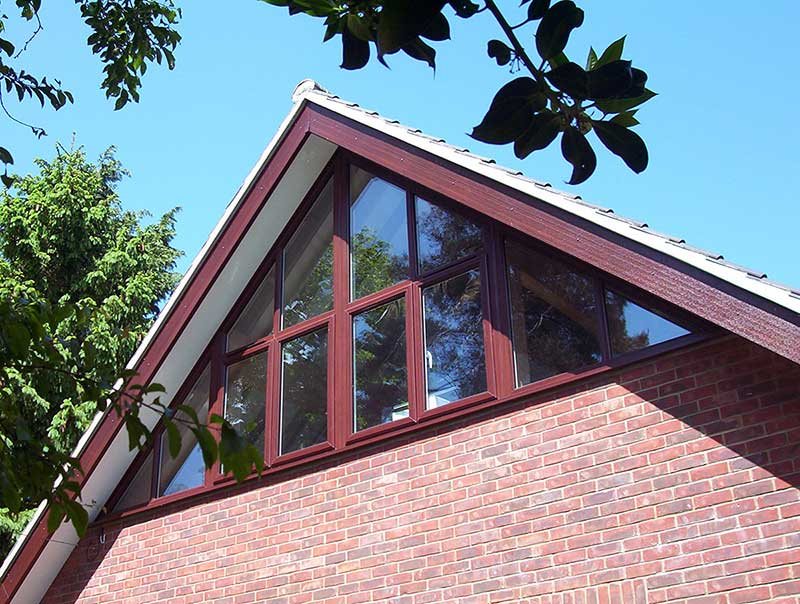 Rosewood PVCu windows in Chedgrave, Norfolk