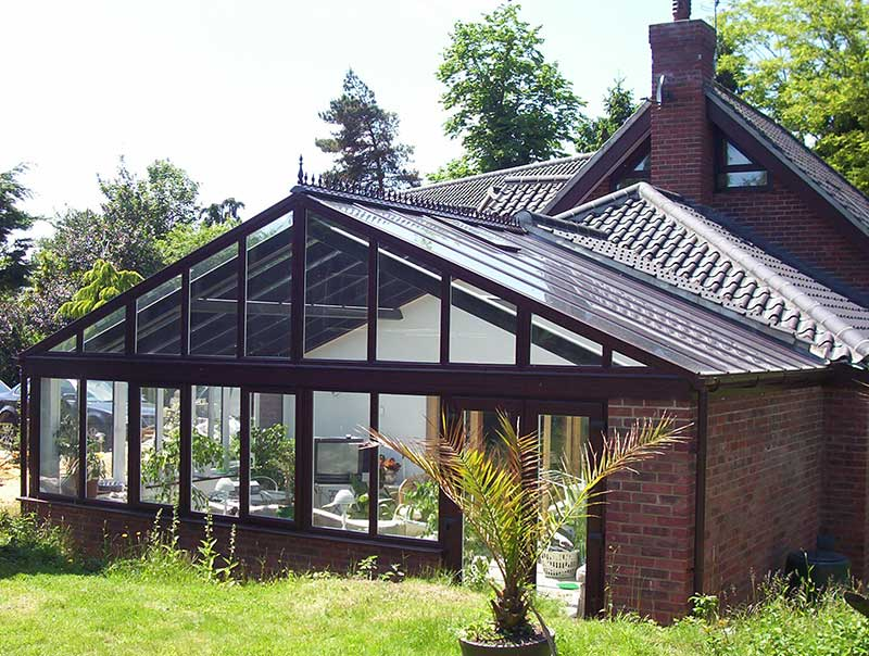 Rosewood PVCu Gable front conservatory in Chedgrave