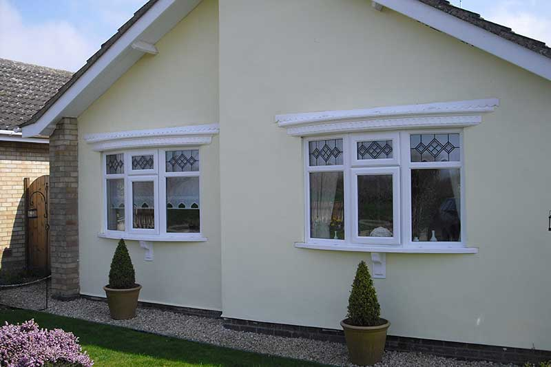 PVCu Bay windows, Sprowston
