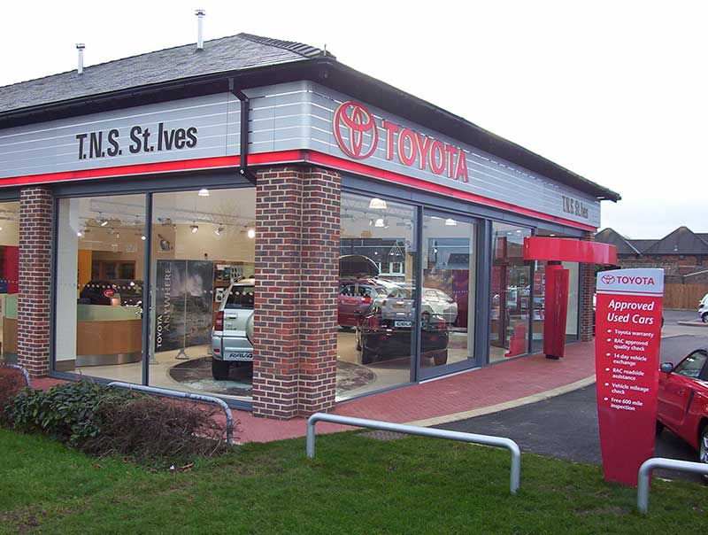 Toyota Dealership in St Ives, Cambridgeshire