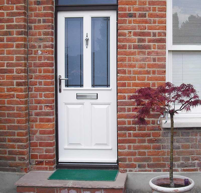 Black frame and Cream door in hardwood in Dereham