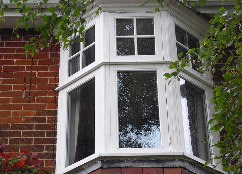 Bay window, Barnham Broom